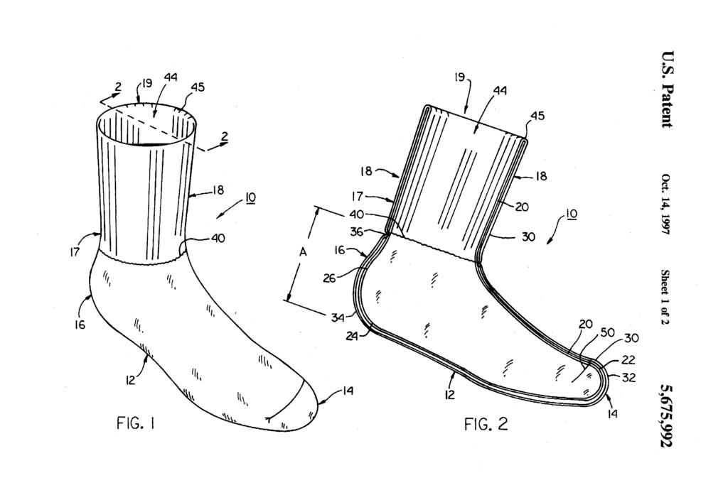 Original-Zeichnung aus der Patentschrift