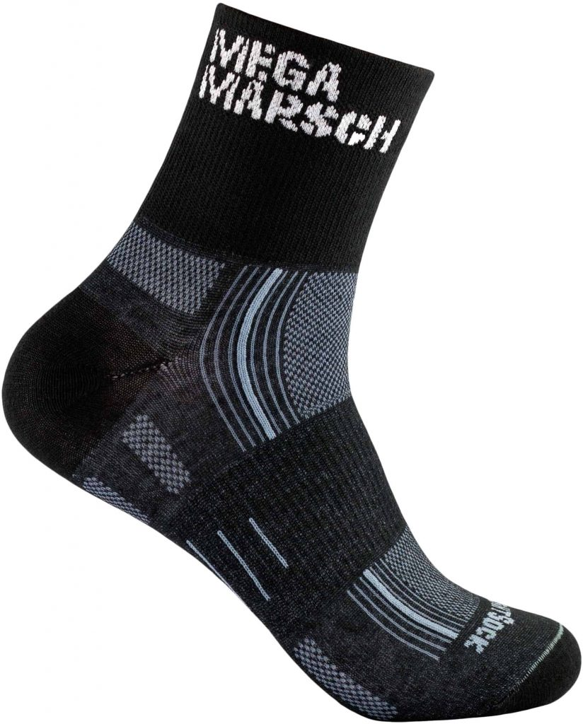 Die WRIGHTSOCK Sonderedition Stride quarter MegaMarsch