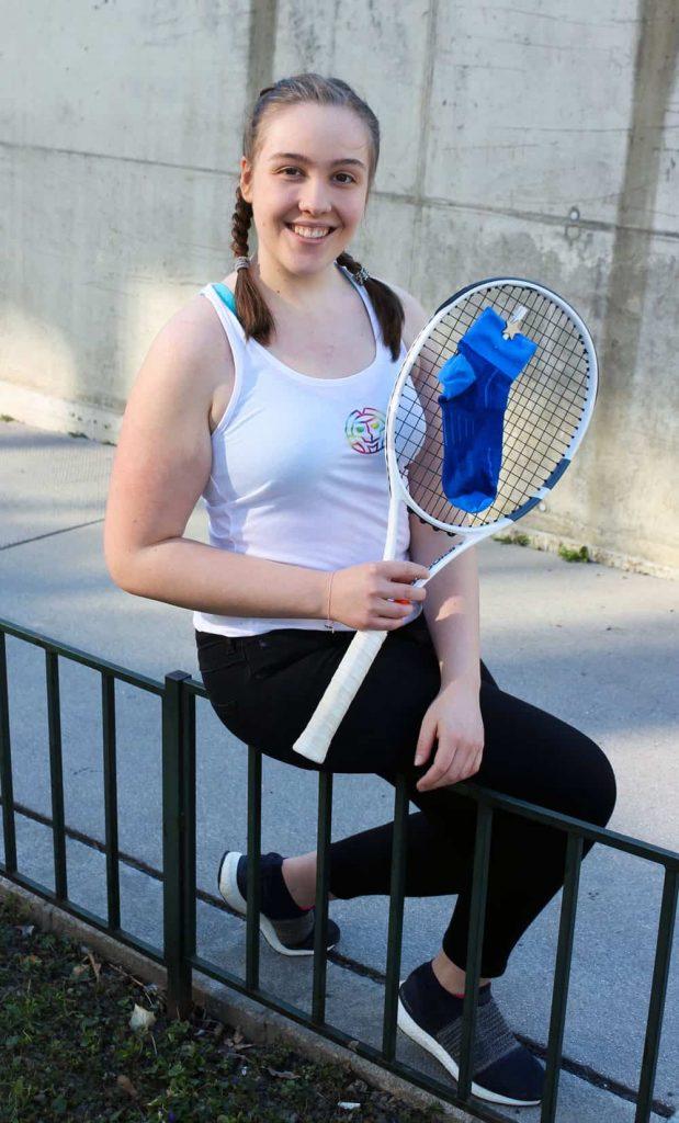 Tennisbloggerin Magdalena Kerres