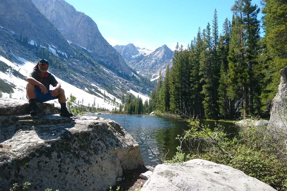 In der Sierra Nevada bei Meile 828