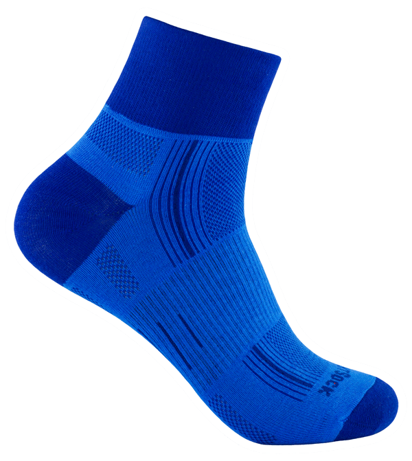 Stride quarter blue-royal