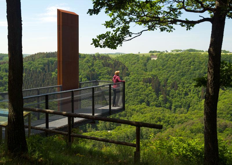 Aussicht vom Eifelblick Achterhöhe