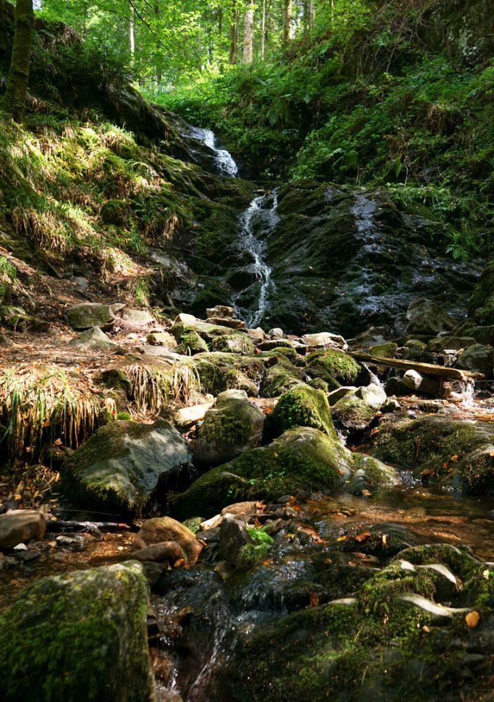 Impression vom Holchenwasserfall