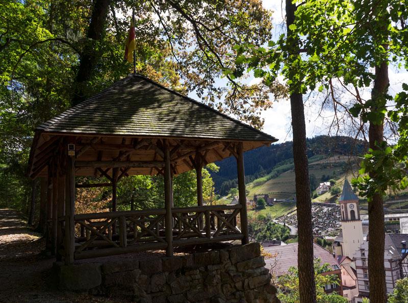 Schutzhütte oberhalb von Bad Peterstal-Griesbach