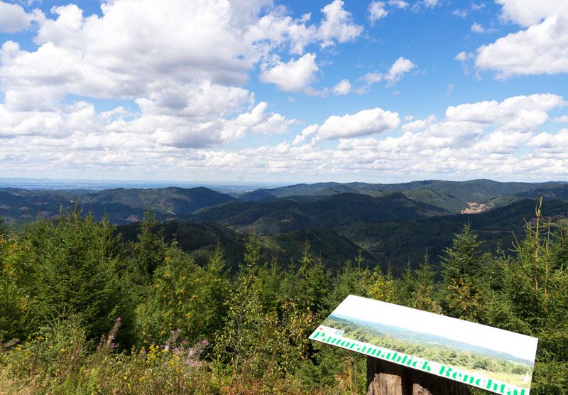 """Aussichtspunkt """"Panoramablick Renchtal"""""""