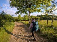Flachwandern in herrlicher Landschaft