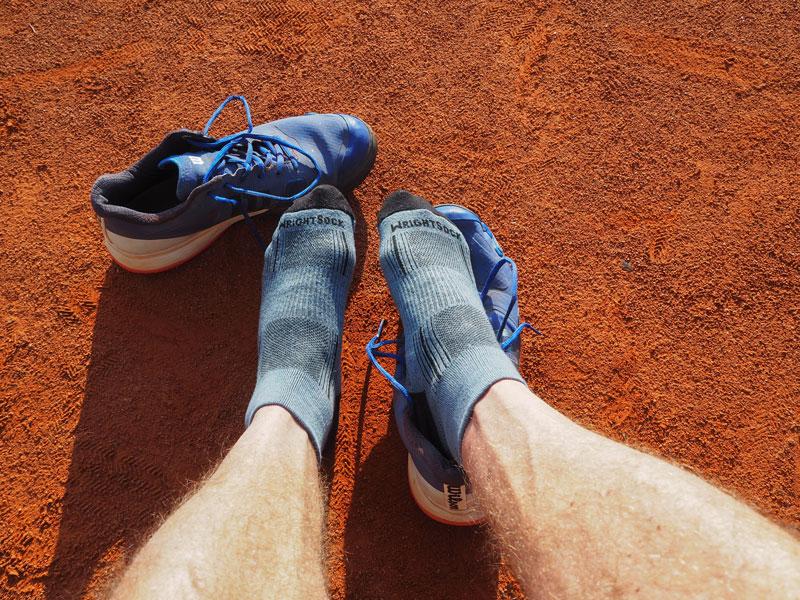 Coolmesh II sind die besten Tennissocken