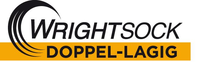 WRIGHTSOCK – doppellagige Socken Logo